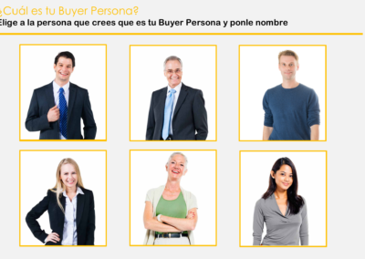 Elige tu Buyer Persona