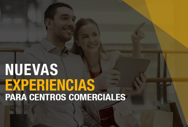 Mejora experiencias en los Centros Comerciales con nuevas tecnologías